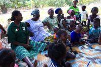 Mulheres e crianças em Basseor