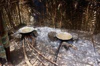 Produção de sal em Sucujaque