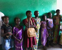 Crianças na escola de Tenhate