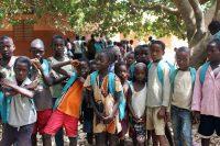 Crianças na escola de Cudocó