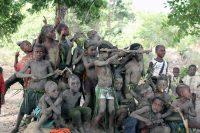 Djiu de Infanda - Rapazes Balanta após uma dança de guerreiros