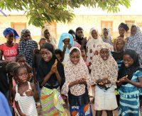 Mulheres e crianças Beafada na tabanca Ndjassani