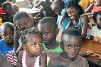Crianças em Ndjaclac